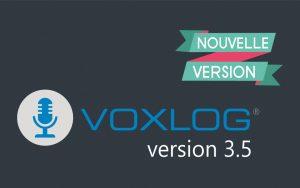 New version of Voxlog 3.5